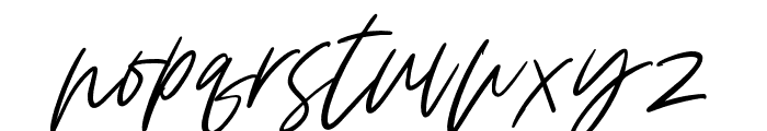 ClaudeSlant Font LOWERCASE