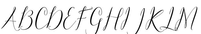 Claudette Font UPPERCASE