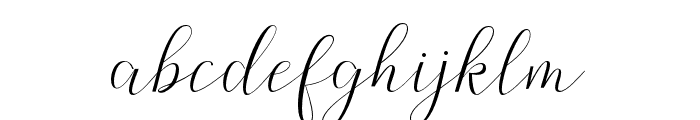 Claudette Font LOWERCASE