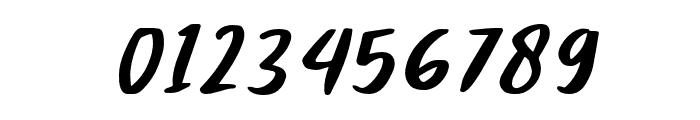 Claudey-Slant Font OTHER CHARS