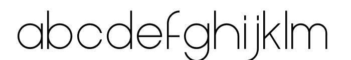 Cleon Light Font LOWERCASE
