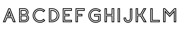 Click-BoldStroked Font UPPERCASE