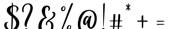 Cloverist Font OTHER CHARS
