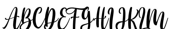 Cloverist Font UPPERCASE