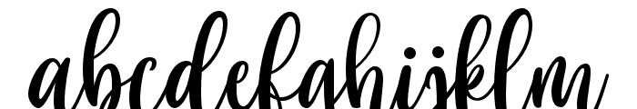 Cloverist Font LOWERCASE