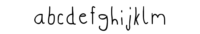 Club57-Clean Regular Font LOWERCASE