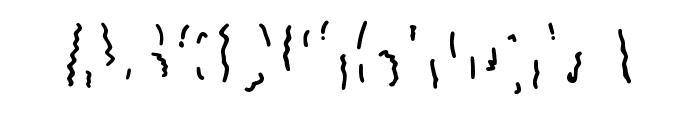 Club57 Marks Regular Font UPPERCASE