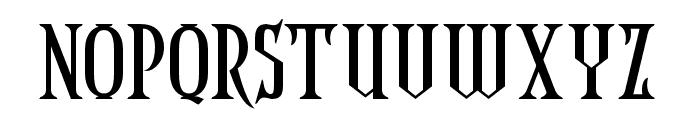 CoasterGhost-Regular Font UPPERCASE
