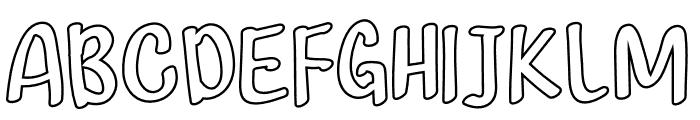 Coffee Island Font UPPERCASE