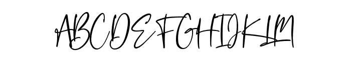 Colossalostbeginswash Font UPPERCASE