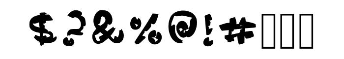 Comic Palm Regular Font OTHER CHARS