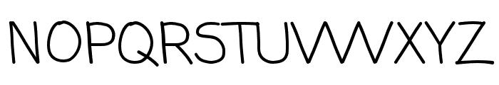 ComingSoonPro Font UPPERCASE