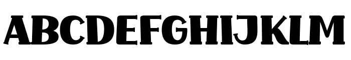 Common Ground Font UPPERCASE