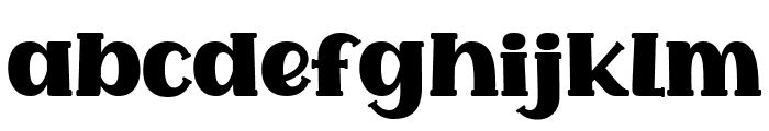 Common Ground Font LOWERCASE