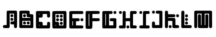 Computerize Font UPPERCASE