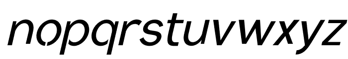 Conceptual Progressive S Slant Font LOWERCASE