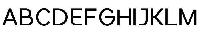 Conceptual Progressive Font UPPERCASE