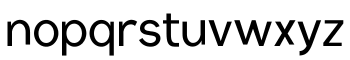 Conceptual Progressive Font LOWERCASE