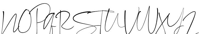 Consuela Script Font UPPERCASE