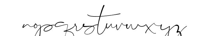 Consuela Script Font LOWERCASE