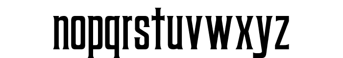 Coprost Font LOWERCASE