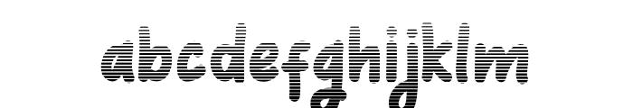 Coquin Gradient Font LOWERCASE