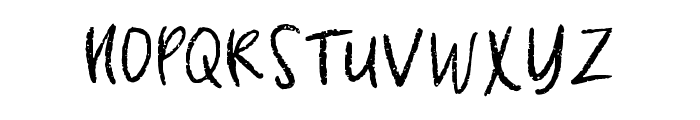 Coquina Clam Regular Font UPPERCASE