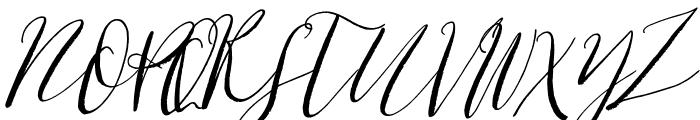 Cottage Gardens Alternates Italic Font UPPERCASE