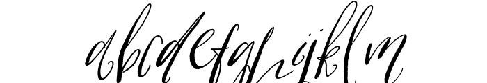 Cottage Gardens Alternates Italic Font LOWERCASE