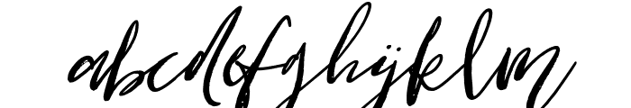Cottage Gardens Bold Italic Font LOWERCASE