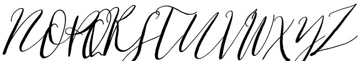 Cottage Gardens Italic Font UPPERCASE