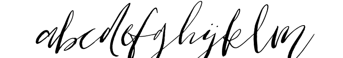 Cottage Gardens Italic Font LOWERCASE