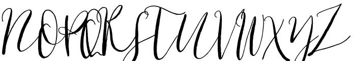 Cottage Gardens Font UPPERCASE