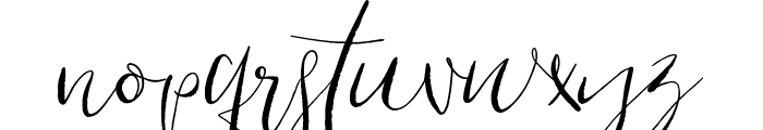 Cottage Gardens Font LOWERCASE