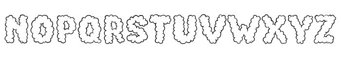 Cotton Cloud Font LOWERCASE
