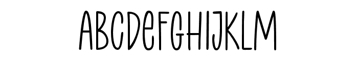 Courtside Font LOWERCASE