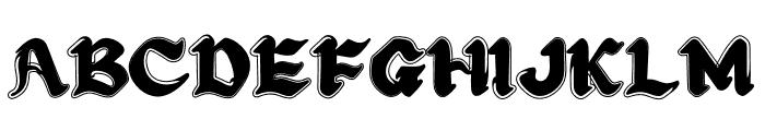 Craft Design Font UPPERCASE