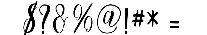 Cratti Font OTHER CHARS