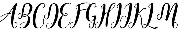 Cratti Font UPPERCASE