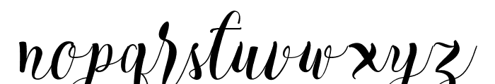 Cratti Font LOWERCASE