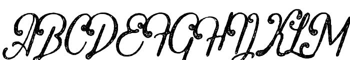 Crawley-Textured Font UPPERCASE