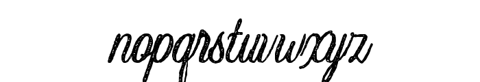 Crawley-Textured Font LOWERCASE