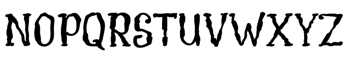 CreamSoup Font UPPERCASE