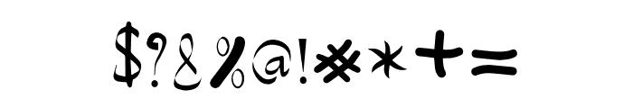 Creative Designer Font OTHER CHARS