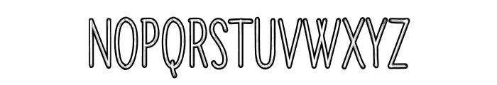 Creative Font UPPERCASE