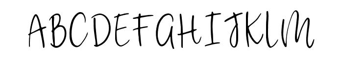 CustomCraft Regular Font UPPERCASE