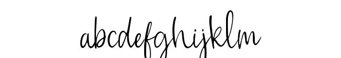 CustomCraft Regular Font LOWERCASE
