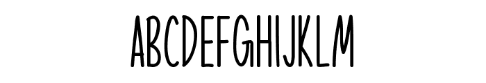 Cute Animals Font UPPERCASE