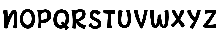 Cute Aurora (Display) Font UPPERCASE