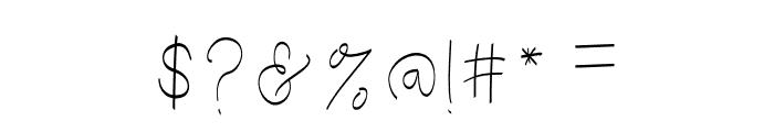 CuteBabyLong-ExpandedRegular Font OTHER CHARS